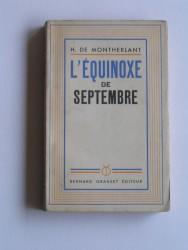 L'équinoxe de septembre
