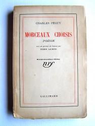 Charles Péguy - Morceaux choisis. Poésie