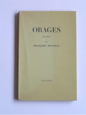 François Mauriac - Orages