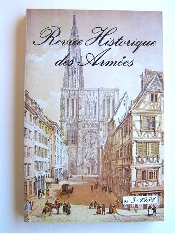 Collectif - Revue historique des armées. N°3 - 1981