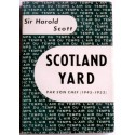 Sir Harold Scott - Scotland Yard par son chef. 1945 - 1953
