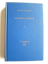 Général Charles De Gaulle - Mémoires d'espoir. Tome1. le renouveau. 1958 - 1962
