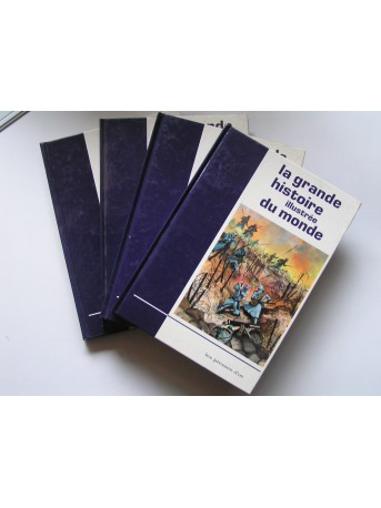 Somerset Frey - La grande histoire illustrée du monde