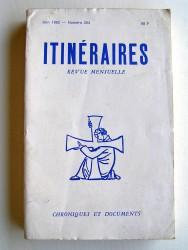 Itinéraires n°264. Chroniques et documents. Vingt ans après. 1962 - 1982
