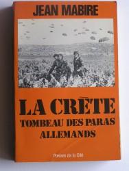 La Crète. Tombeau des paras allemands