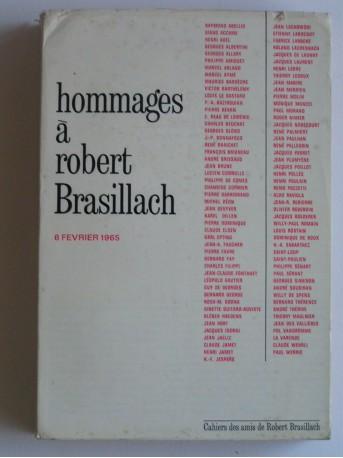 Collectif - Hommages à Robert Brasillach. 6 février 1965
