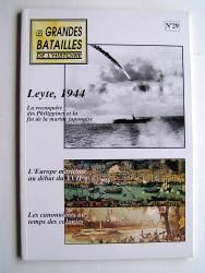 Collectif - Les grandes batailles de l'Histoire. N°29. Leyte, 1944...
