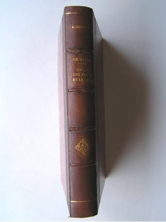 Alphonse Daudet - Le Nabab (Moeurs parisiennes) et Entre les frises et la rampe (Petite étude de la vie théatrale)