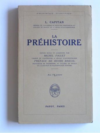 L. Capitan - La Préhistoire