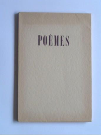 Robert Brasillach - Poèmes
