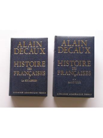Alain Decaux - Histoire des Françaises. La soumission (Tome 1). La révolte (Tome 2)