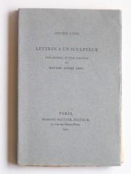 Lettres à un sculpteur