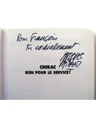 Jacques Faizant - Chirac. Bon pour le service