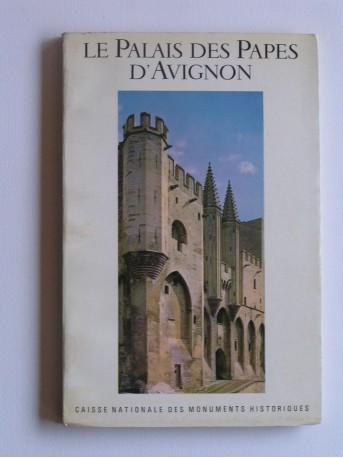Sylvain Gagnière - Le palais des papes d'Avignon