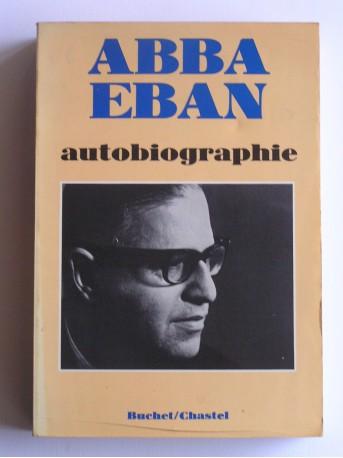 Abba Eban - Autobiographie