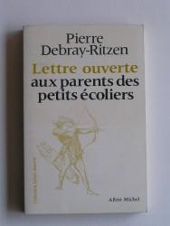 Lettre ouverte aux parents des petits écoliers