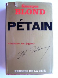 Georges Blond - Pétain