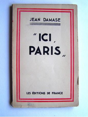 "Jean Damase - ""Ici Paris"""