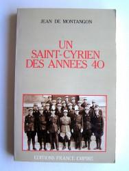 Un Saint-Cyrien des années 40