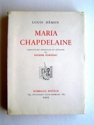 Louis Hémon - Maria Chapdelaine
