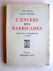 L'envers des Barricades. Vingt mois d'insurrection à Alger