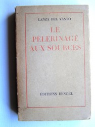 Le pélerinage aux sources