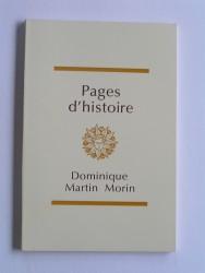 Pages d'histoire