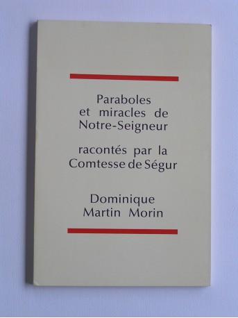 Comtesse de Ségur - Paraboles et miracles de Notre-Seigneur