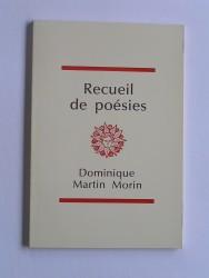 Recueil de poésies