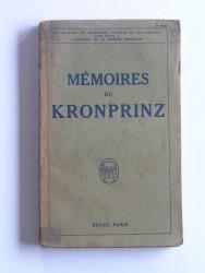 Mémoires du Kronprinz