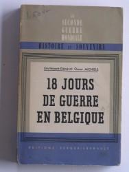 18 jours de guerre en Belgique
