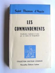 Saint Thomas d'Aquin - Les Commandements