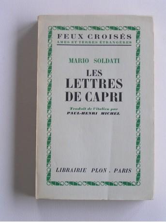 Mario Soldati - Les lettres de Capri