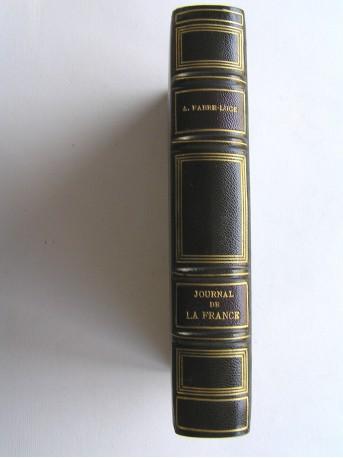 Alfred Fabre-Luce - Journal de la France. Mars 1939 - juillet 1940