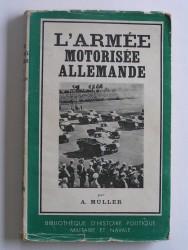 L'armée motorisée allemande