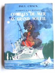 Combats de mer au grand soleil