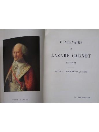 Collectif - Centenaire de Lazare Carnot. 1753 - 1853