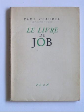 Paul Claudel - le livre de Job
