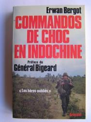Erwan Bergot - Commandos de choc en Indochine. Les héros oubliés