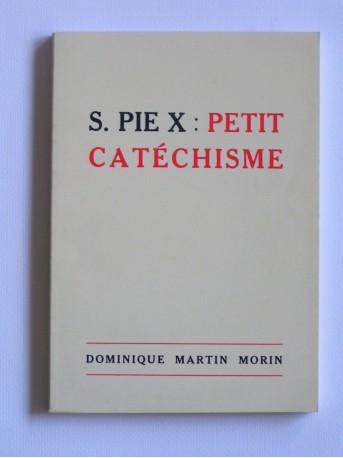 Anonyme - Petit catéchisme de Saint Pie X