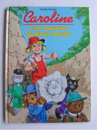 Pierre Probst - Caroline et le mystère du chat fossile