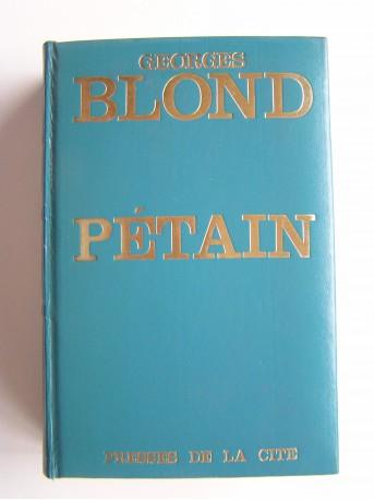Georges Blond - Pétain
