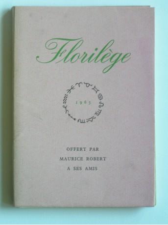 Collectif - Florilège