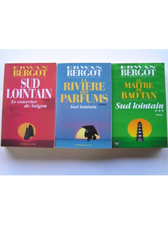 Erwan Bergot - Sud lointain. 3 Tomes. Complet