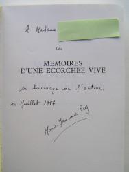 Marie-Jeanne Rey - Mémoires d'une écorchée vive. Alger 1954-1962