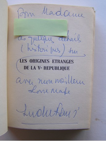 André Figueras - Les origines étranges de la Vème République