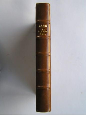 Arthur Conte - Le 1er janvier 1940