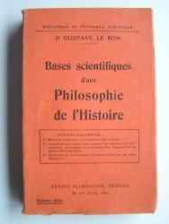 Bases scientifiques d'une philosophie de l'histoire