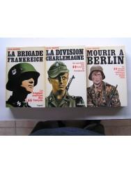 La trilogie complète sur la tragique aventure des SS français. Les 3 tomes.