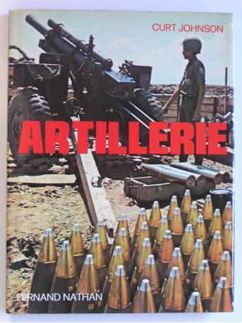 Curt Johnson - Artillerie